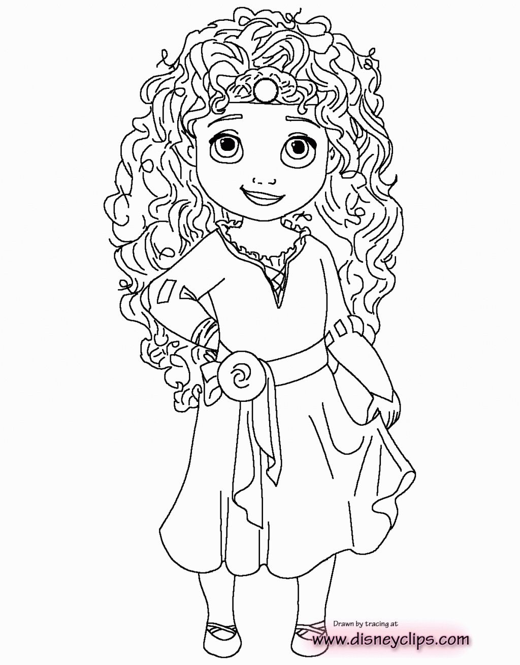Brave Princess Merida Coloring Page For Kids Disney Princess Coloring Pages Prin Disney Princess Coloring Pages Disney Princess Colors Princess Coloring Pages
