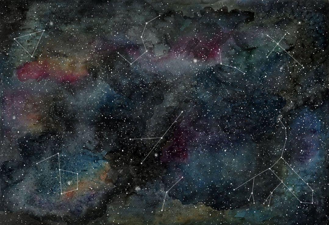 Resultado de imagen para galaxy watercolour