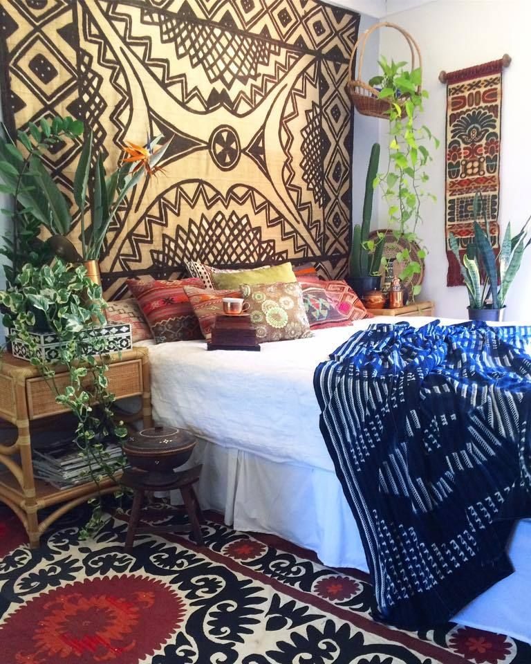 1942 Vintage HUGE And RARE African Mud Cloth!