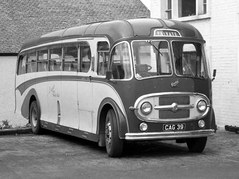 Bristol L6G Burlingham FC35F 19481958. Bus city