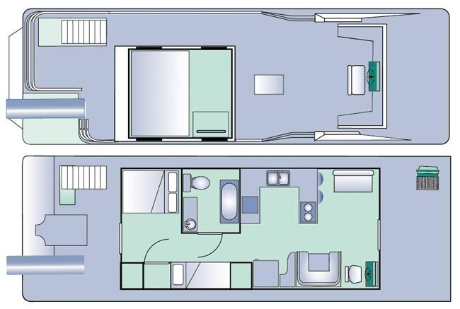 Houseboat Plans | Free Houseboat Plans | House plans with photos
