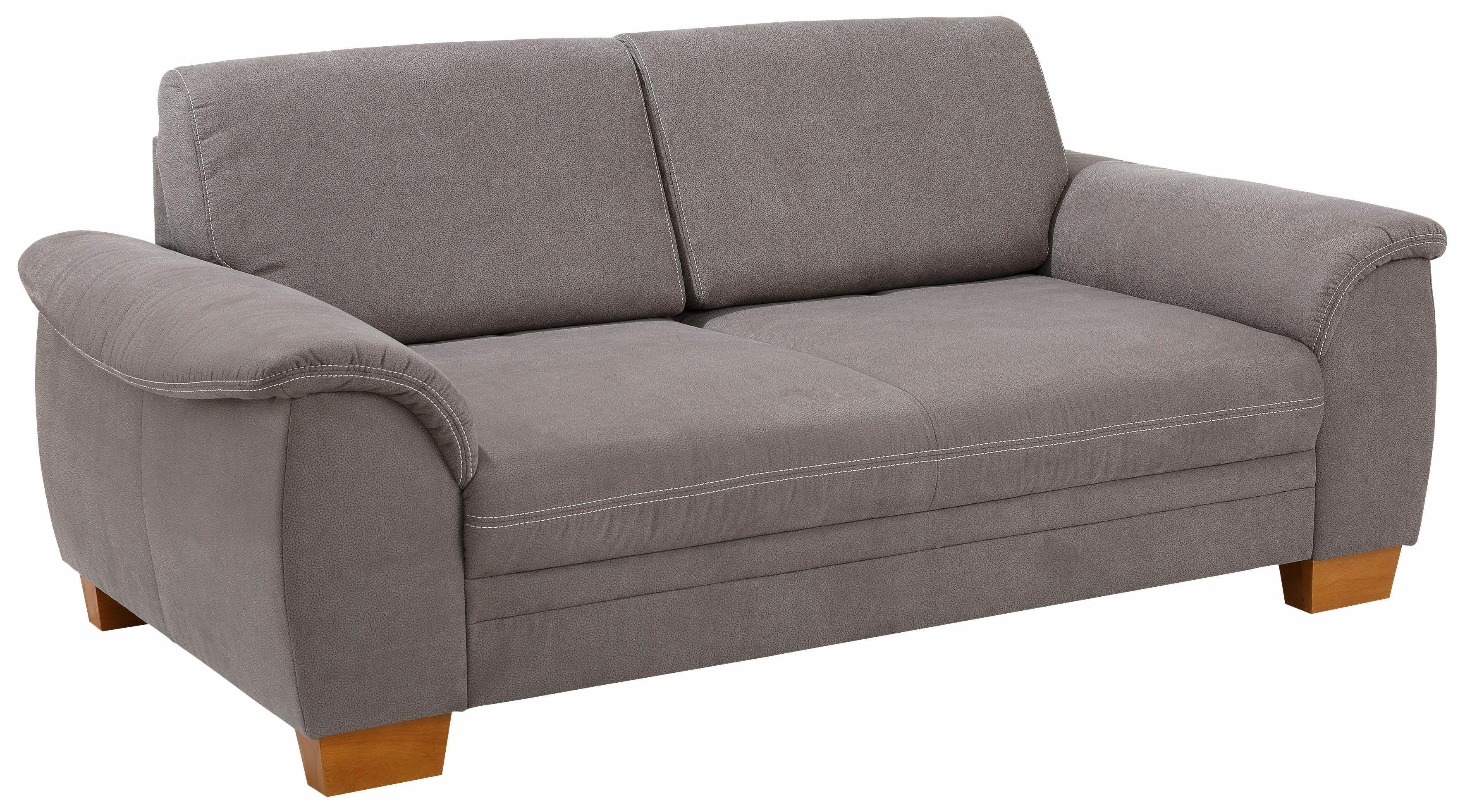 Beeindruckend Sofa Sitztiefenverstellung Ideen Von Home Affaire 3-sitzer », Mit Sitztiefenverstellung, Kontrastnaht