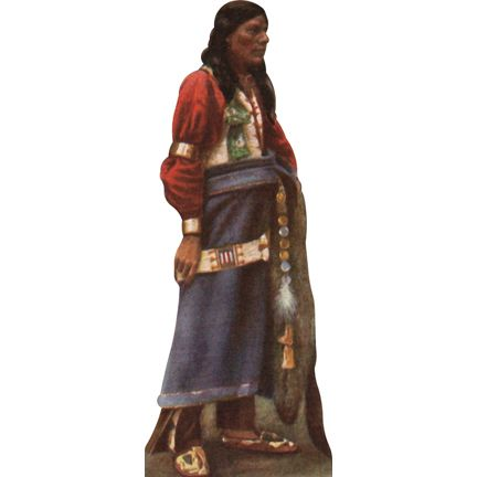 Hiawatha, the legendary Native American leader who founded the Iroquois confederacy. Hiawatha follwed a spiritual leader known as The Great Peacemaker who wanted the Iroquois people to be united. He was successful in persuading the Onondagas, Mohawks, Cayugas, Senecas, and Oneidas to band together to form the Five Nations within the Iroquois confederacy. The Tuscarora nation later joined.