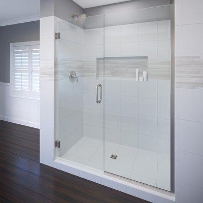 Celesta 59 X 76 Hinged Adjustable Door And Panel Shower Door