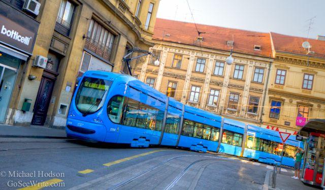 Streetcar Trams In Zagreb Croatia Zagreb Croatia Zagreb Croatia