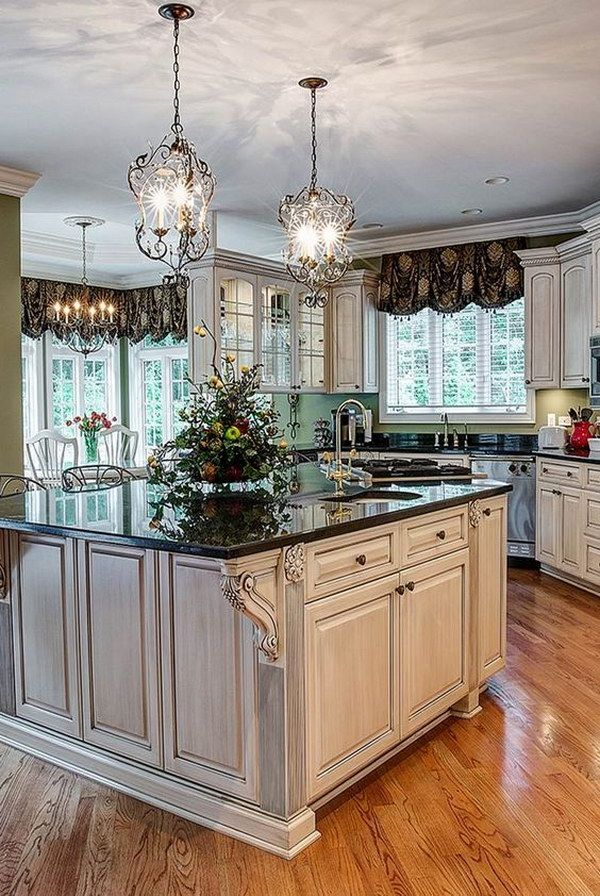 30+ Awesome Kitchen Lighting Ideas Country kitchen