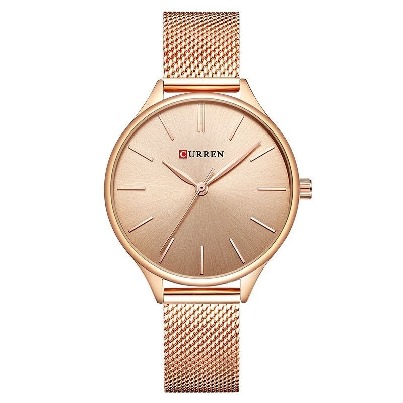Buy CURREN Women's Net with Casual Fashion Slim Quartz Watch, sale ends soon. Be inspired: enjoy aff...