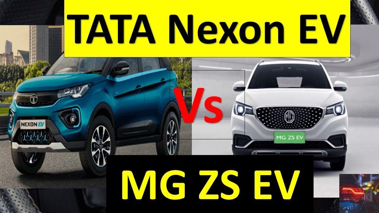 TATA Nexon EV vs MG ZS EV COMPARISON The Top Selling