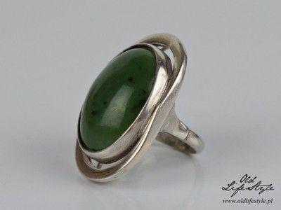 Unikatowy Srebrny Pierscionek Orno Jadeit 6780802169 Oficjalne Archiwum Allegro Silver Jewerly Jewelry Polish Jewelry