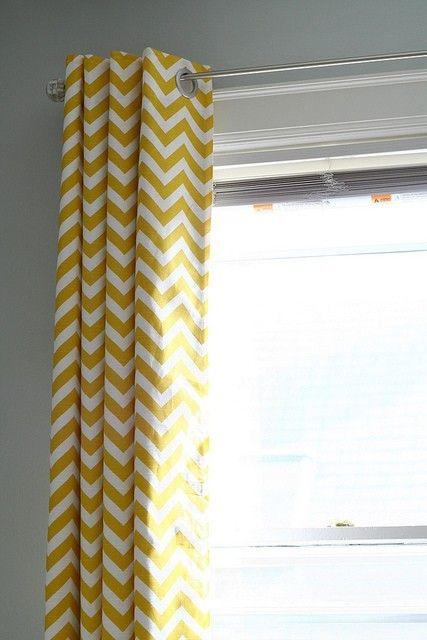Yellow Chevron Curtains Chevron Curtains Curtains Nursery Curtains