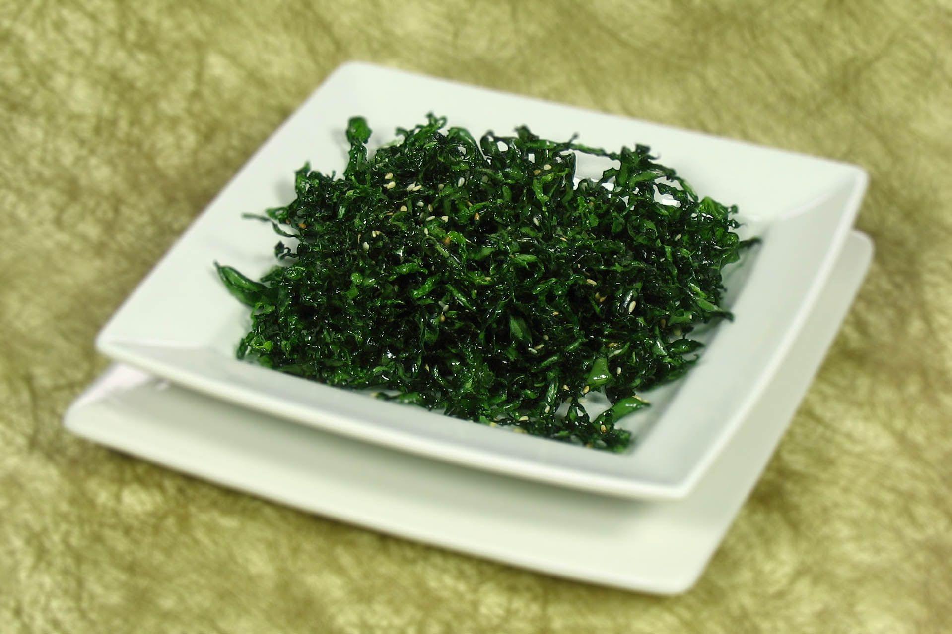 Recipe Crispy Seaweed With Toasted Sesame Seeds Food Crispy Seaweed Recipes