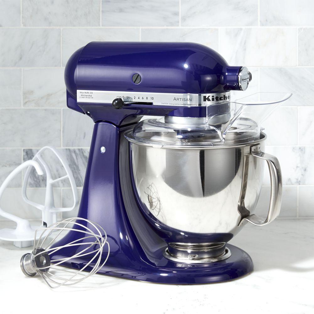 kitchenaid artisan cobalt stand mixer home appliances stand rh pinterest com
