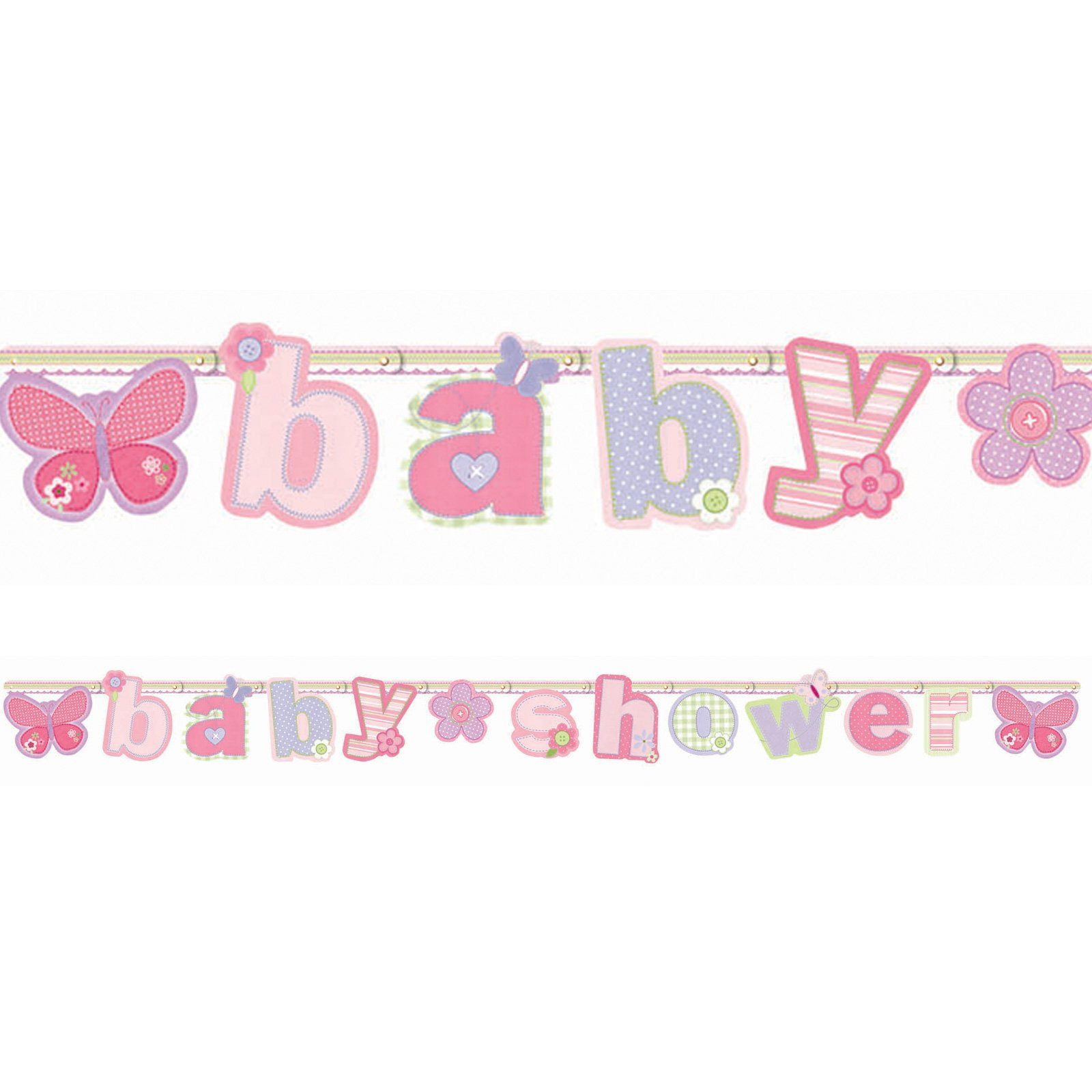 CarterS Baby Girl Letter Banner Are You Planning To Throw A Baby