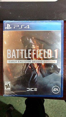 Brand New Sealed Battlefield 1 Early Enlister Deluxe Edition