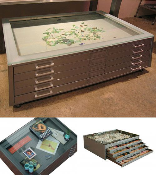 Map Case Coffee Table In 2020 Puzzle Table Home Home Decor