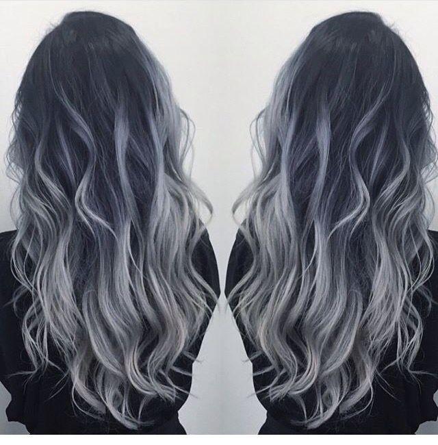 pin von brianne kinnison auf hair pinterest haar ideen graue haare und wei blonde haare. Black Bedroom Furniture Sets. Home Design Ideas