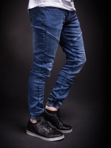eed5a28aeeba 2Y Men Slim Fit Simple Denim Jogger Jeans - Blue   UNIQUE STUDIO ...