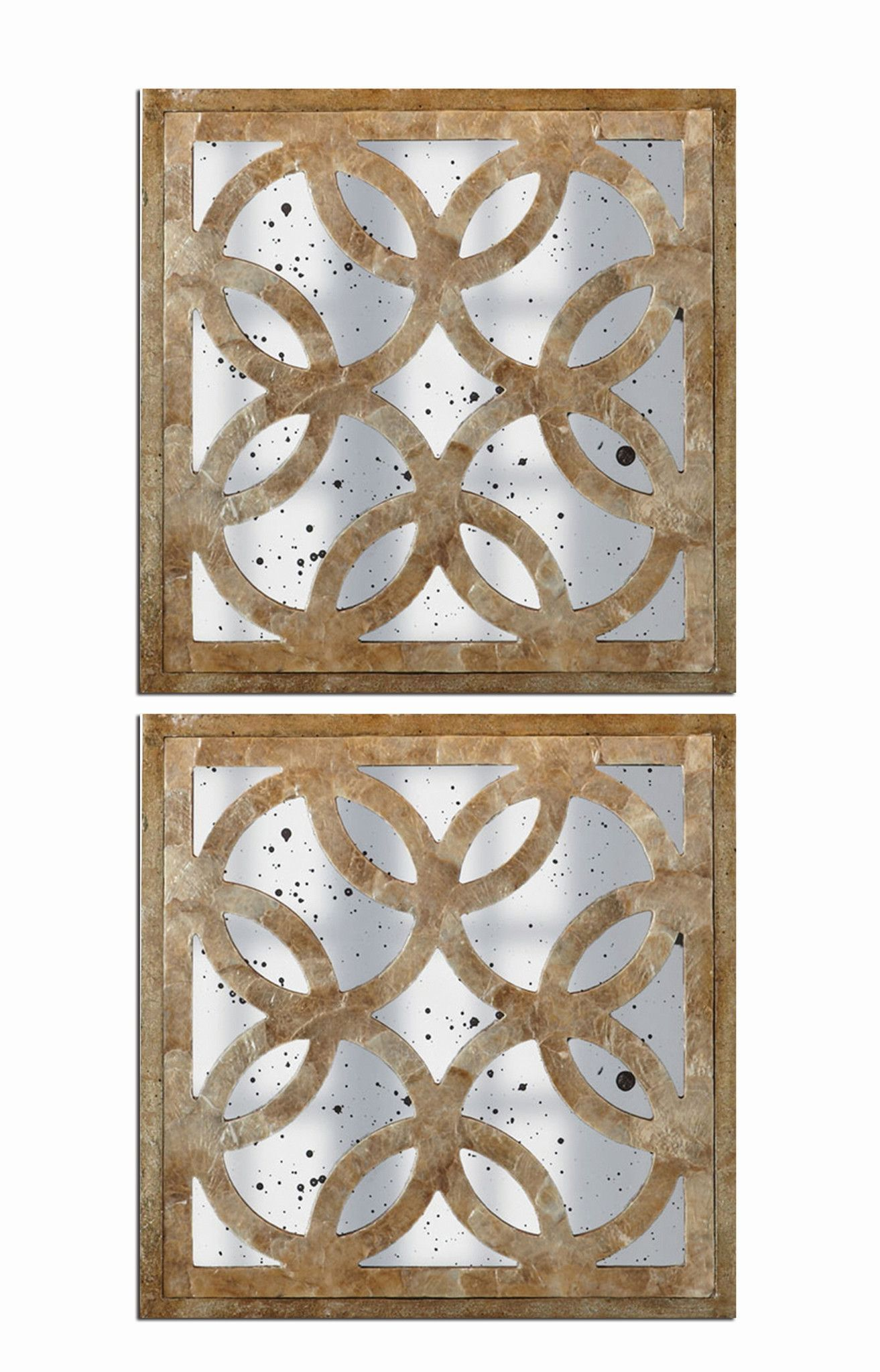 Set of 2 Montecito Wall Mirrors design by Couture Lamps