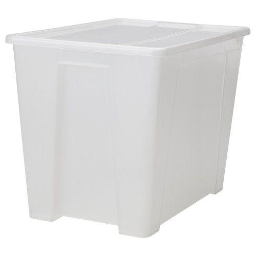 קופסא עם מכסה SAMLA