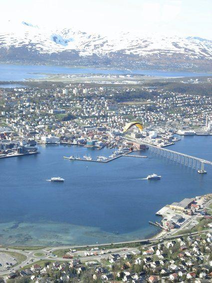 Tromso, Norway.  July 2013