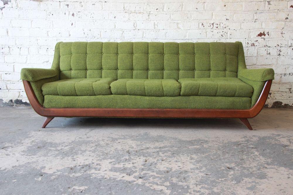 Adrian Pearsall Style Mid Century Modern Gondola Sofa Midcenturymodern Mid Century Modern Couch Sofa Home Sofa