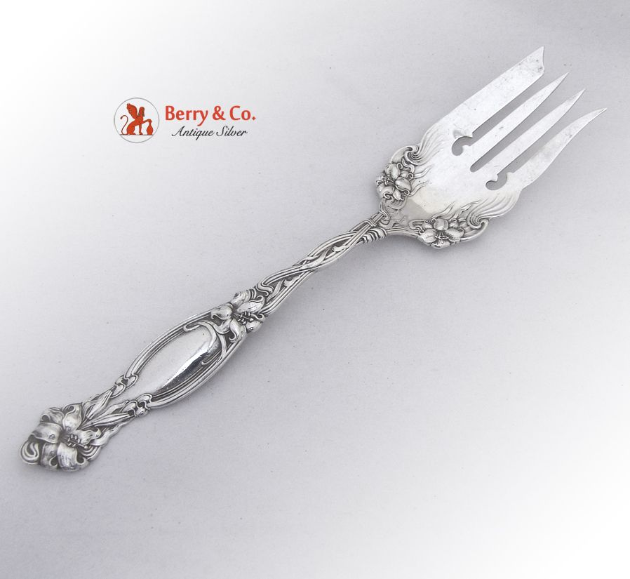 in the Winterberry Pattern. 1 from Pfaltzagraff 8 34 Medium One Cold Meat Serving Fork