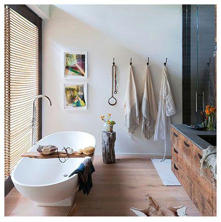 Moderne industriele badkamer strandhuis   Bath   Pinterest   Bath ...