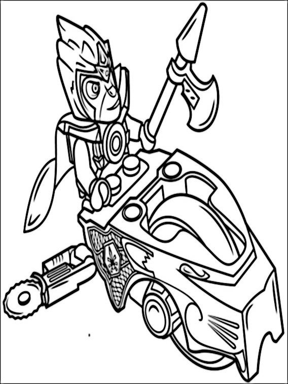 Lego Chima Coloring Pages 5 In 2020 Lego Coloring Pages Coloring Pages To Print Lego Coloring
