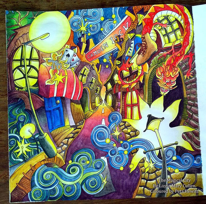 The Magical City La Artistino Peta Hewitt