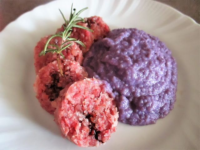 FORNELLI IN FIAMME: ARTISAN SALAMI WITH VITELOTTE MASHED POTATOES - Sa...