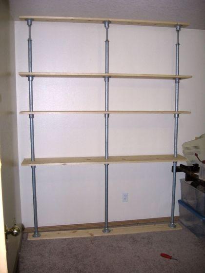 Etagere Sans Percer Project Sbc Fr Shelving Shelves Shelves Projects