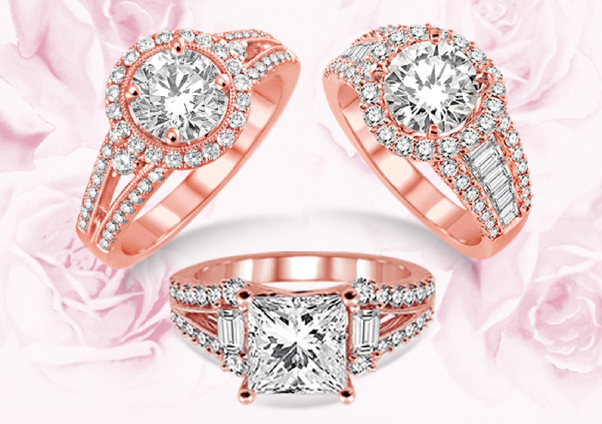 Rose Gold Diamond Rings | Ring | Pinterest | Rose gold diamond ring ...