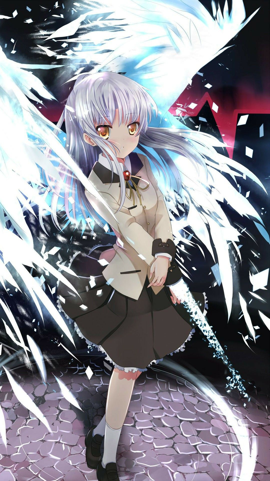 Kanade Tachibana Angel Beats Девушки из аниме, Аниме