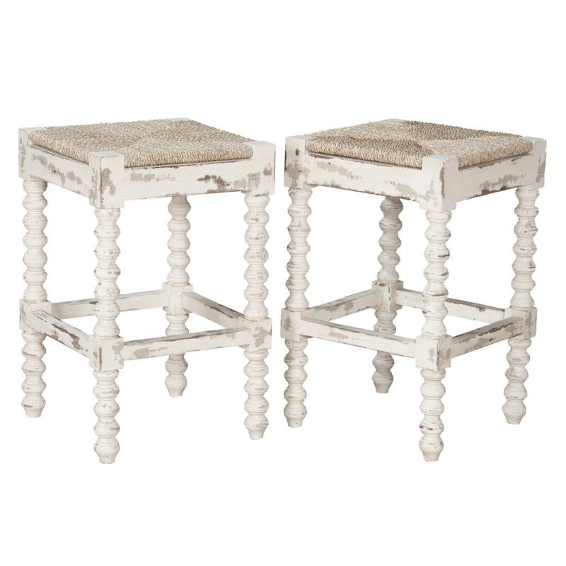 French Country Rush Seat Counter Stools In 2019 French Country Rug French Country Kitchens French Country Furniture