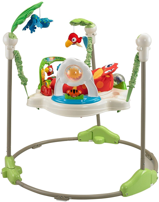 8b17d56e1 Details about Fisher Price Rainforest Jumperoo Baby Jumper Walker ...