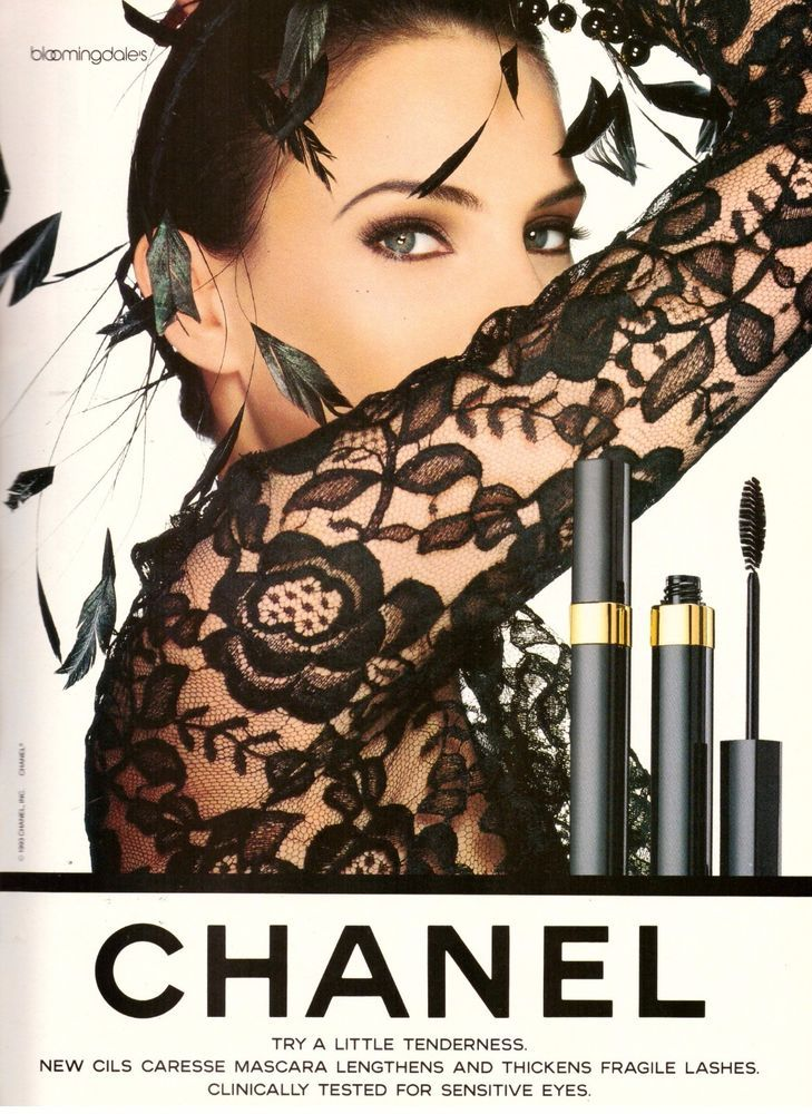 1994 Chanel Beauty Cosmetics Makeup Print Advertisement Ad Vintage VTG 90s | eBay