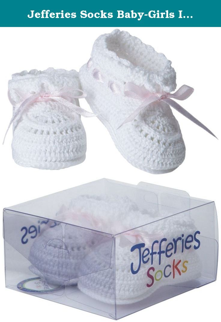 a24a6209576 Jefferies Socks Baby-Girls Infant Hand Crochet Bootie