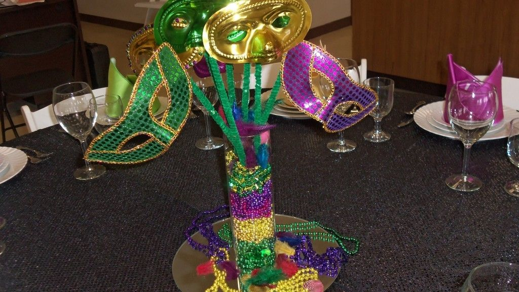Masquerade Mask Table Decorations Elegant Mardi Gras Table Centerpieces  Event Gallery Exposition