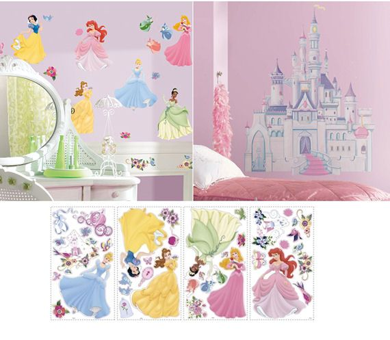 Buy The Castle And The Decals Together And Make The Ultimate Disney Princess  Room!