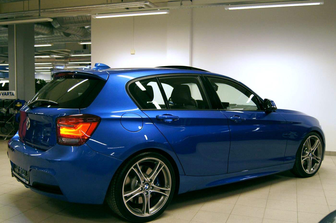 Estoril Blue F20 M Sport With M Performance Parts Cars