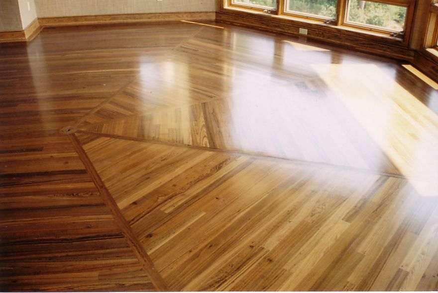 Beautiful Custom Hardwood Flooring By