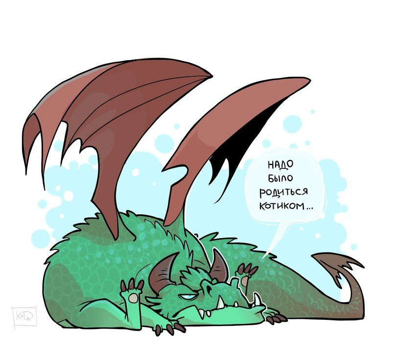 Смешные картинки о драконах