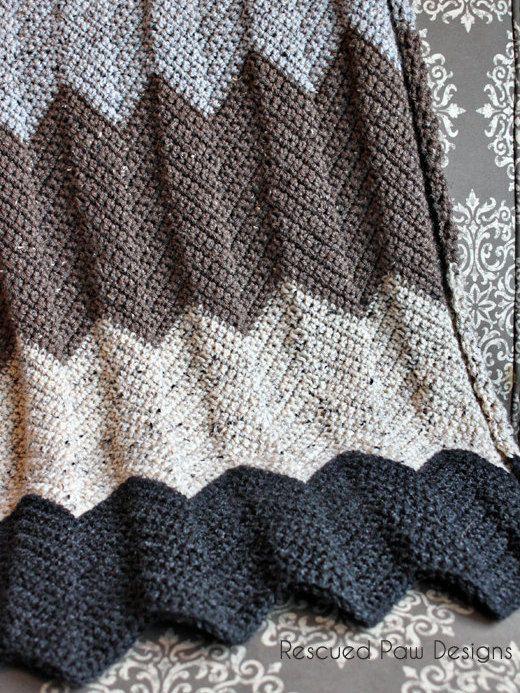 Crochet chevron blanket pattern neutral modern color blocked crochet chevron blanket pattern neutral modern color blocked blanket crochet pattern dt1010fo