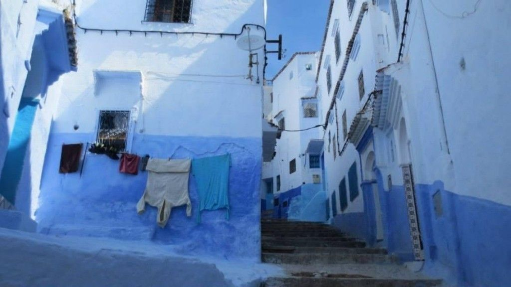"""The beautiful blue medina in the town of Chefchaouen, Morocco."" Shannon V., Canada"