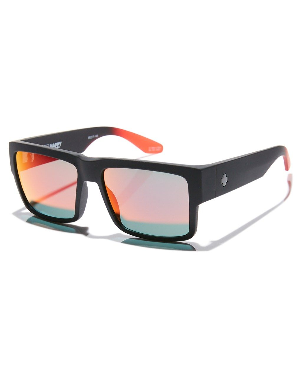 591d4f07a0 Spy Cyrus Happy Lens Sunglasses Soft Matte Black Mens sunglasses Size