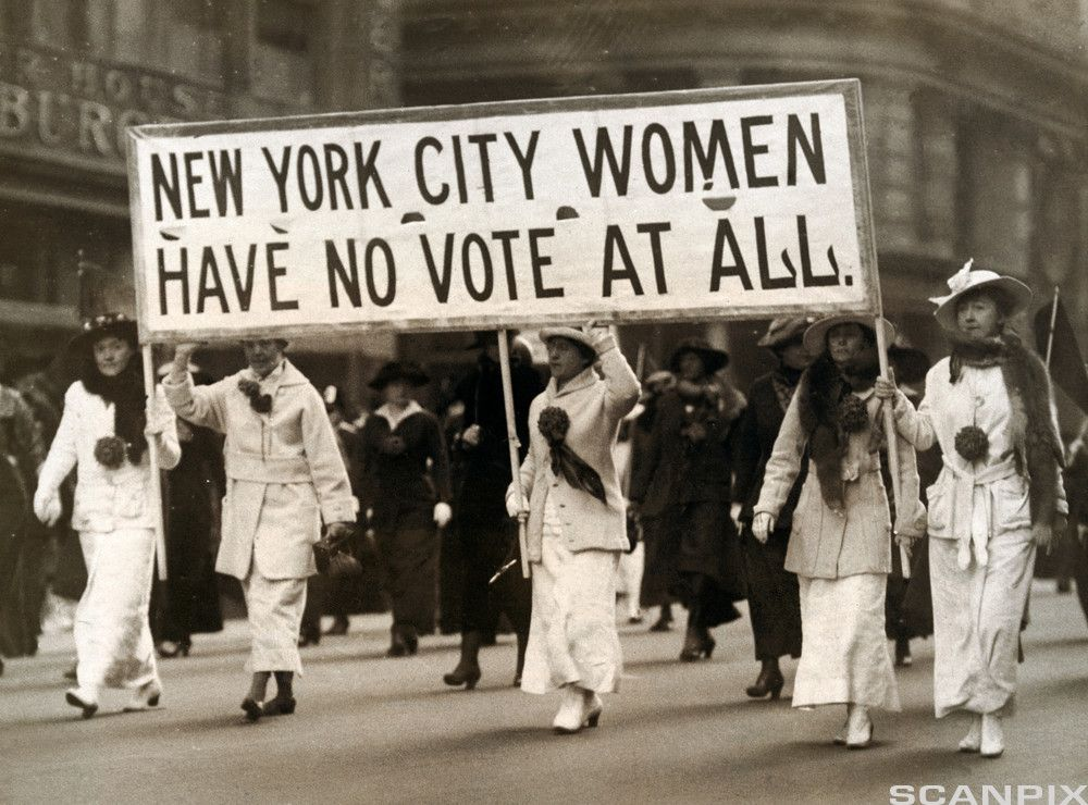 womens right Suffragists faced a decades-long debate on women's right to vote:   while it was a hard fight to get the vote,.