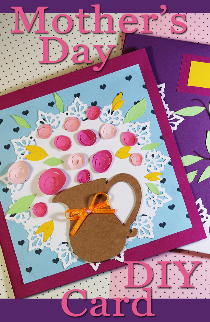 How to make motherus day card diy simple idea for making greeting