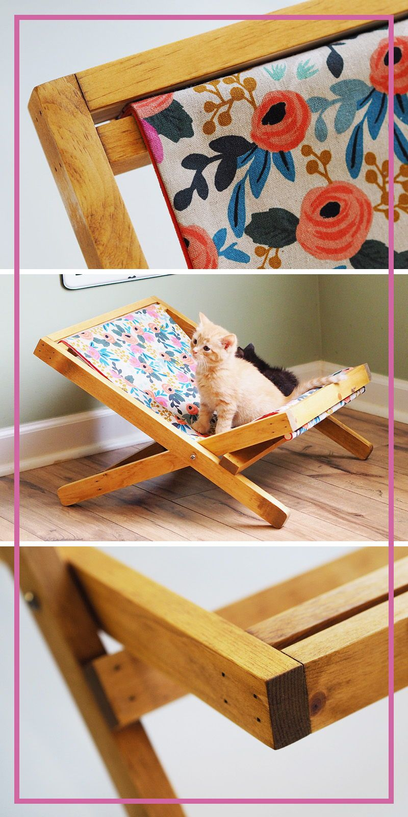 Life is better at the beach! These folding woodframe