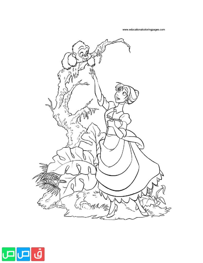 رسومات للتلوين للبنات أكثر من مائة صورة جاهزة للطباعة قصص اطفال Art Humanoid Sketch