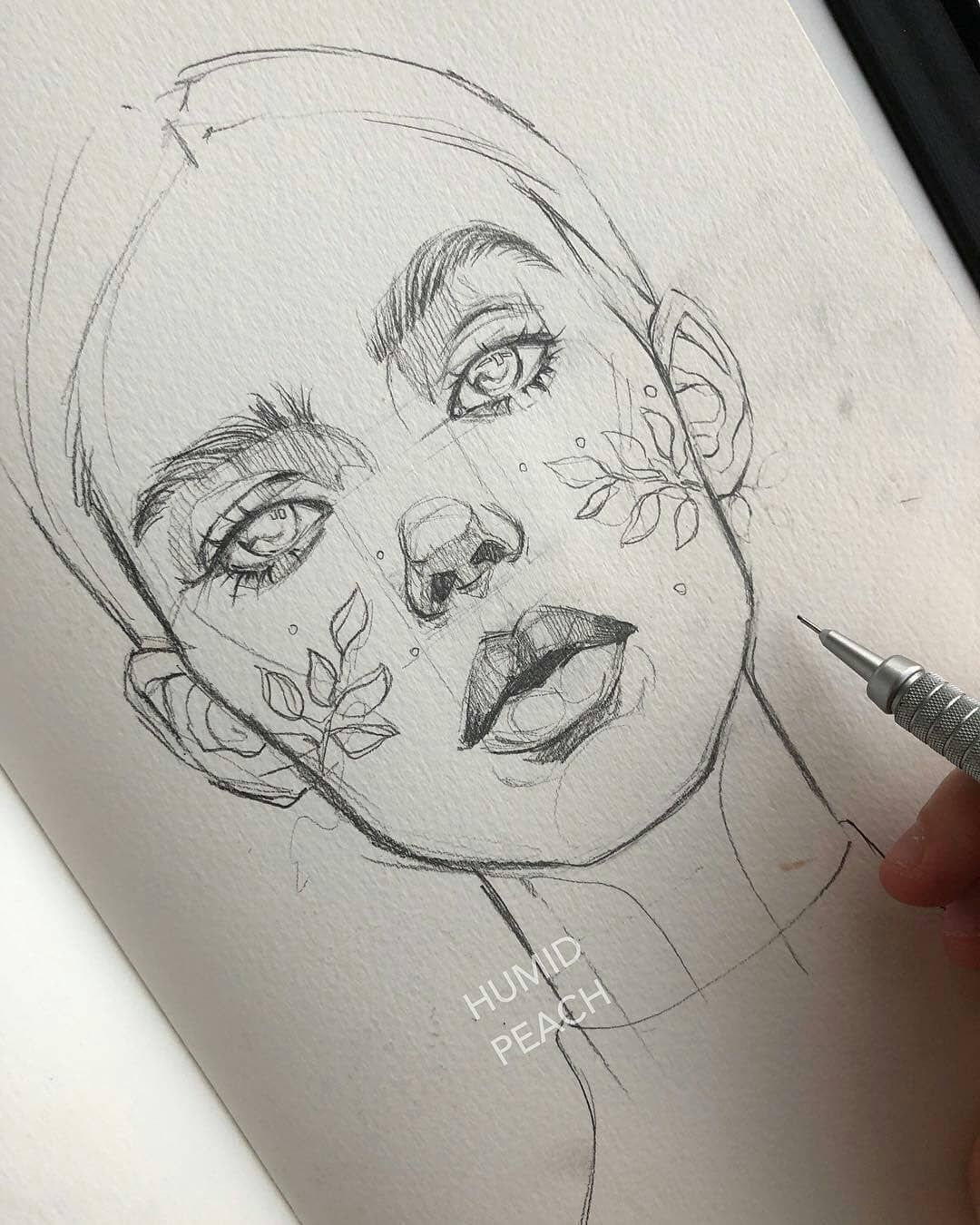 Pin Oleh Sebastian Pardo Di Drawing And Painting Cara Menggambar Sketsa Gambar Realistis